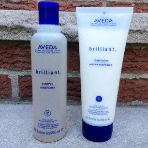 Aveda Brilliant Shampoo & Conditioner