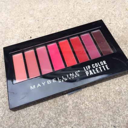 Maybelline Lip Color Palette