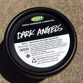 Lush Dark Angels Face Scrub