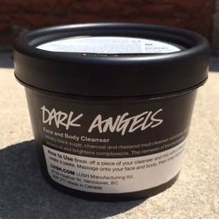 Lush Dark Angels Face Scrub
