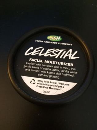Lush Celestial Moisturizer Review