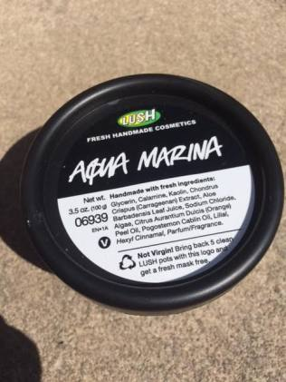 Lush Aqua Marina Cleanser Review