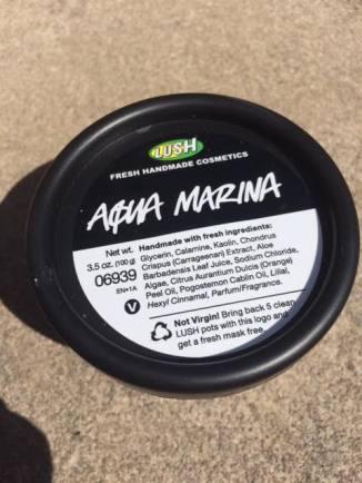 Lush Aqua Marina Cleanser Review