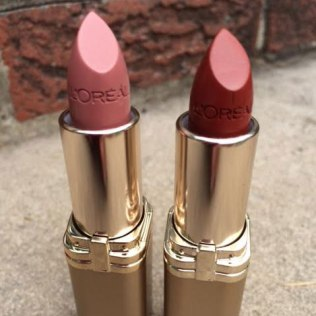 L'Oreal Colour Riche Lipcolour Review