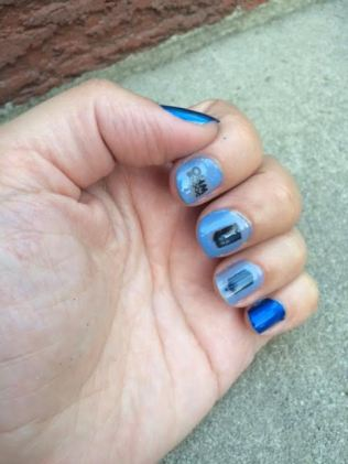 Dr. Who Nails