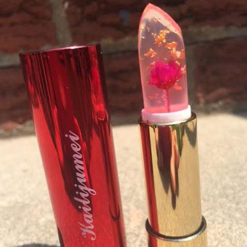 Kailijumei Flower Jelly Lipstick Review | Queen of the Girl Geeks