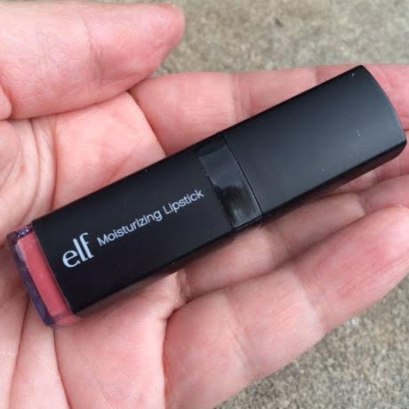e.l.f. Moisturizing Lipstick in Pink Minx Review