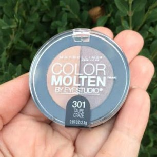 Maybelline EyeStudio Color Molten Palette in Taupe Craze Review