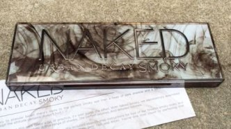 Urban Decay Naked Smoky Eyeshadow Palette Review