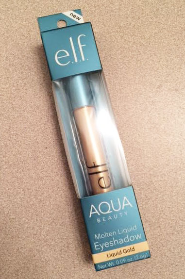 New e.l.f. Aqua Beauty Molten Liquid Eyeshadow Review
