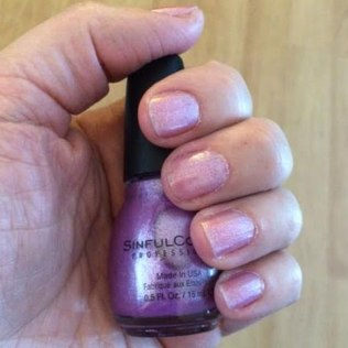 SinfulColors Purple Diamond Review