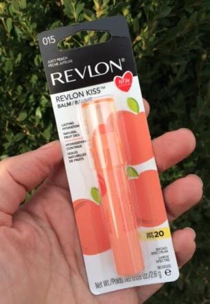 Revlon Kiss Lip Balm In Juicy Peach Review