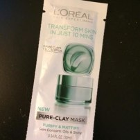 L'Oreal PURE-CLAY MASK Purify & Mattify Mask Review