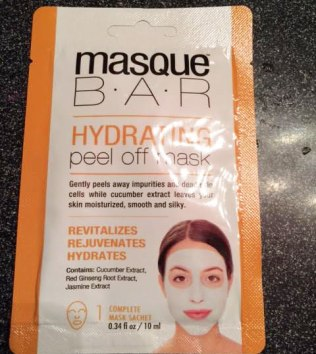 Masque Bar Hydrating Peel Off Mask Review