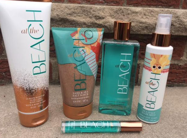 Bath & Body Works At The Beach Collection Review | Queen of the Girl Geeks