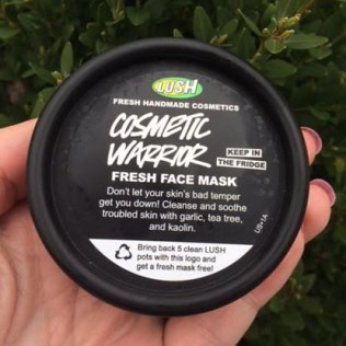 Lush Cosmic Warrior Fresh Face Mask Review