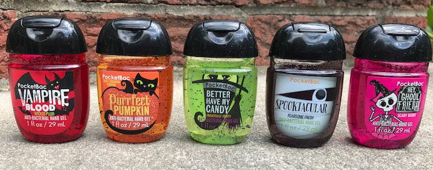 Bath Amp Body Works Halloween 2017 Pocketbac Sanitizers