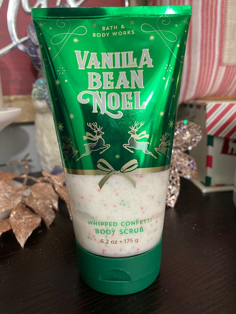 Bath & Body Works Vanilla Bean Noel Body Scrub