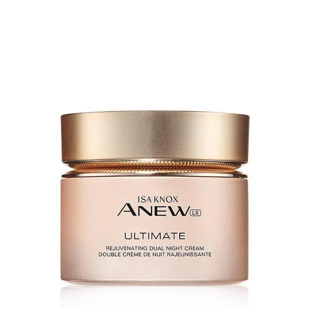 Avon's Isa Knox Anew LX Ultimate Rejuvenating Dual Night Cream