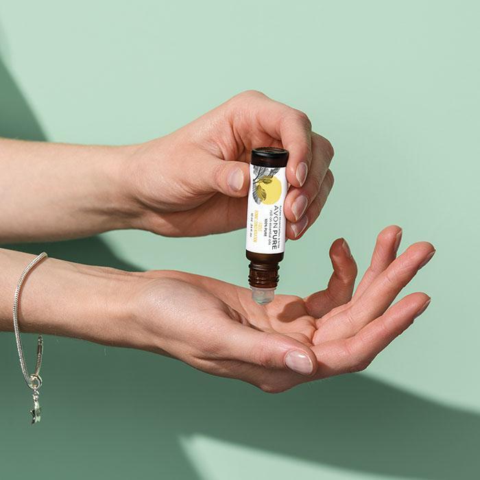 Avon roll on essential oils